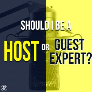 Should I Be a Host or a Guest First?