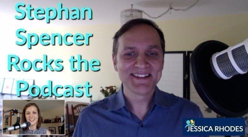 Stephan Spencer Rocks the Podcast