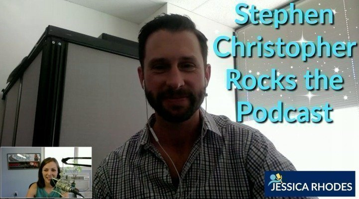 Stephen Christopher Rocks the Podcast
