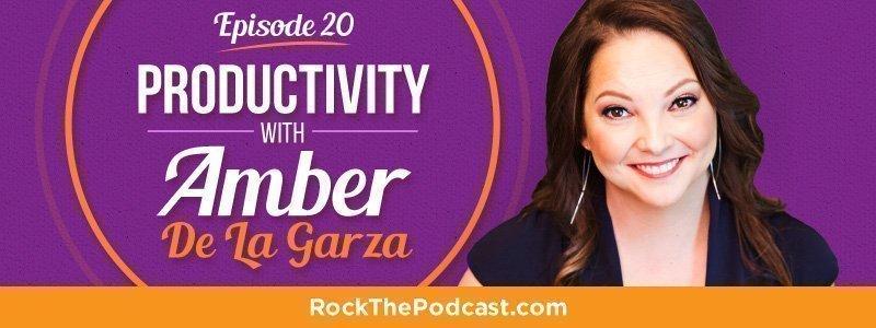 IC020: Productivity with Amber De La Garza