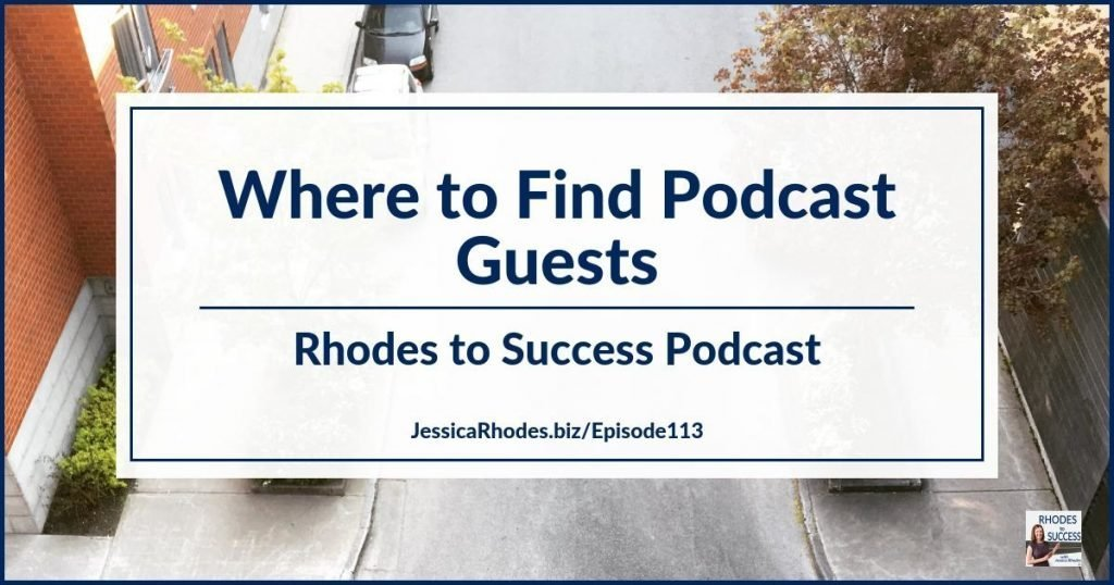 Where to Find Podcast Guests