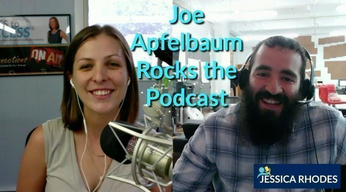 Joe Apfelbaum Rocks the Podcast