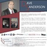 Dave Sanderson's Podcast One Sheet