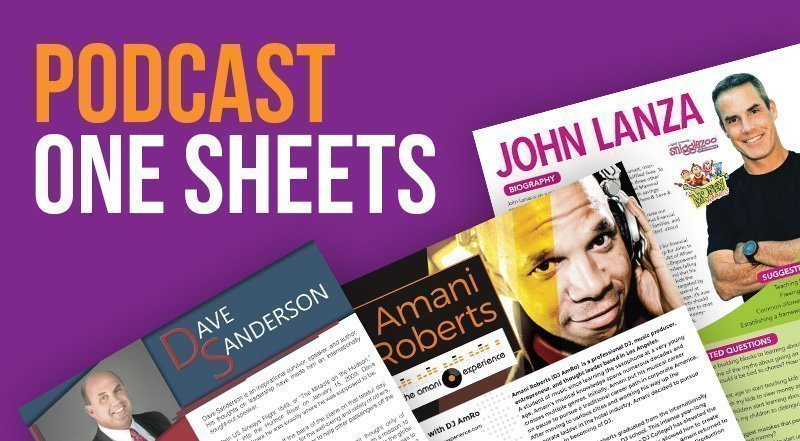 Podcast One Sheets
