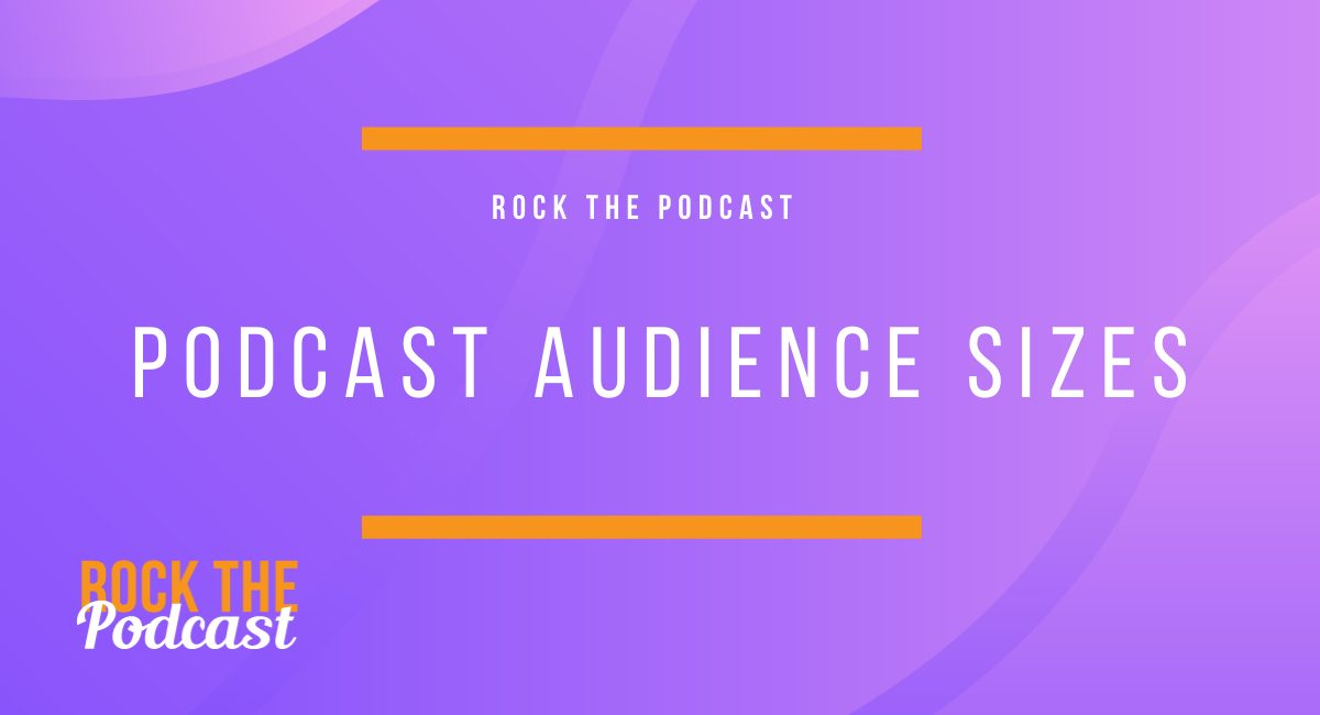 Podcast Audience Sizes