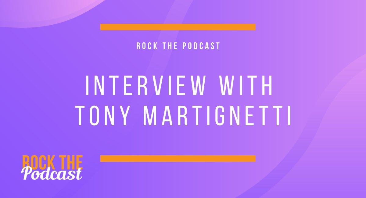 Interview with Tony Martignetti